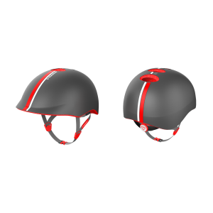 Yvolution Helmet Grey