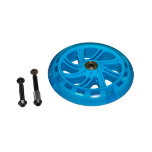 Neon Flash 145mm Flashing Wheel Blue