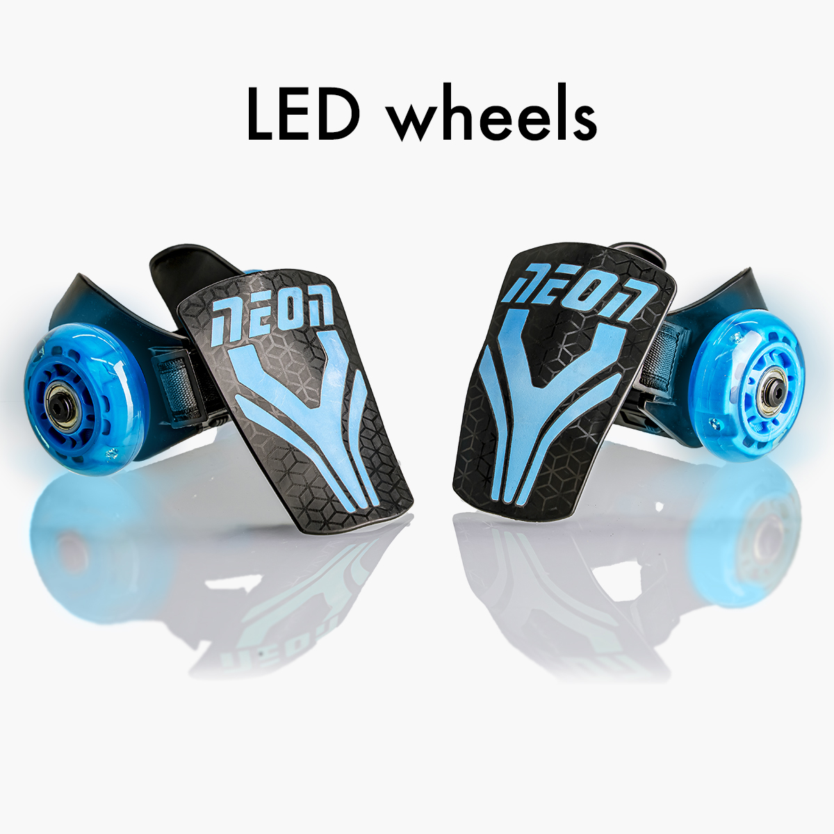 LED light-up wheels (no batteries needed)