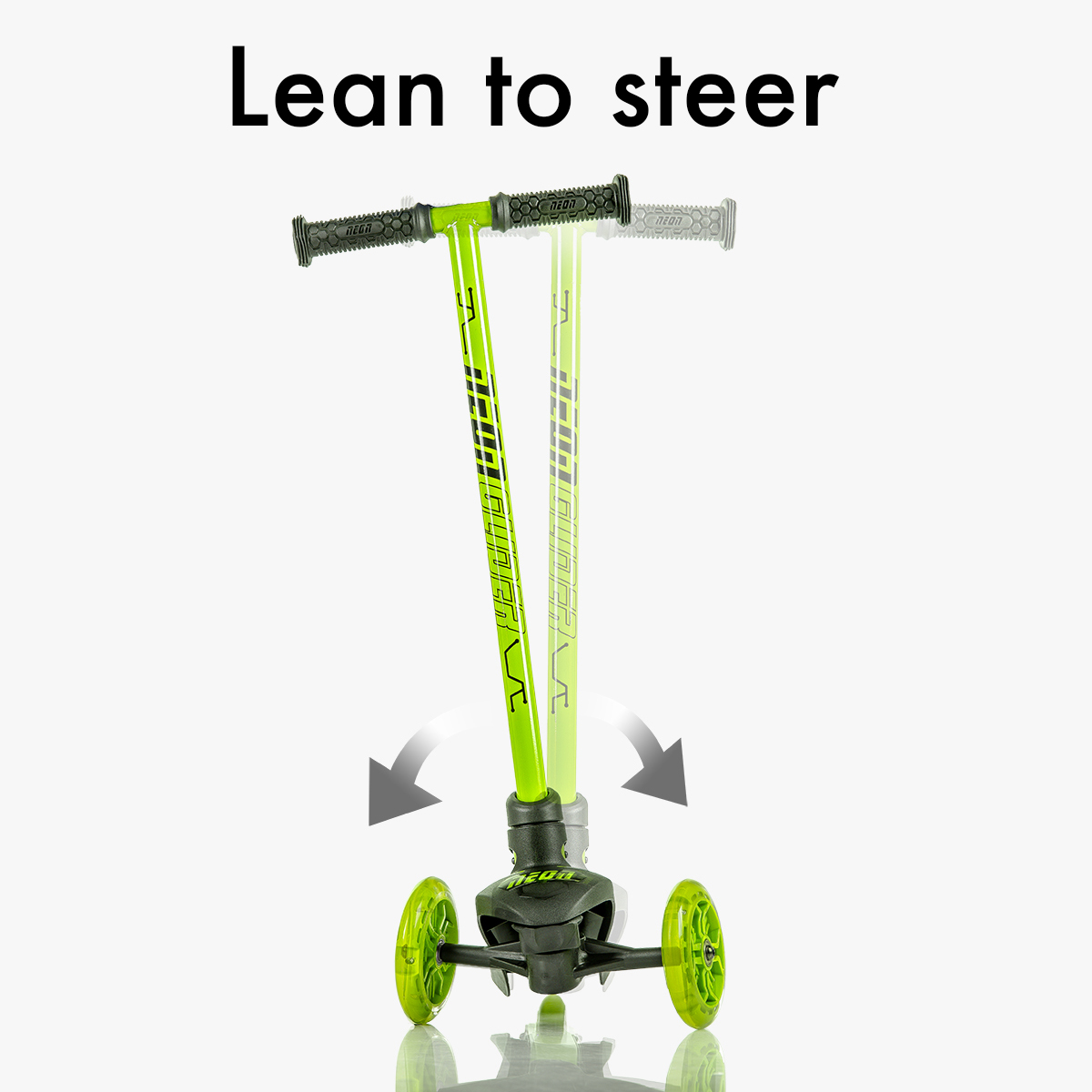Patented lean to steer technology
