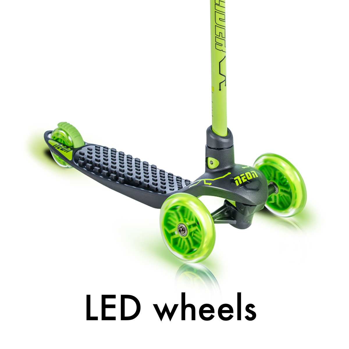 LED wheels (no battery required)