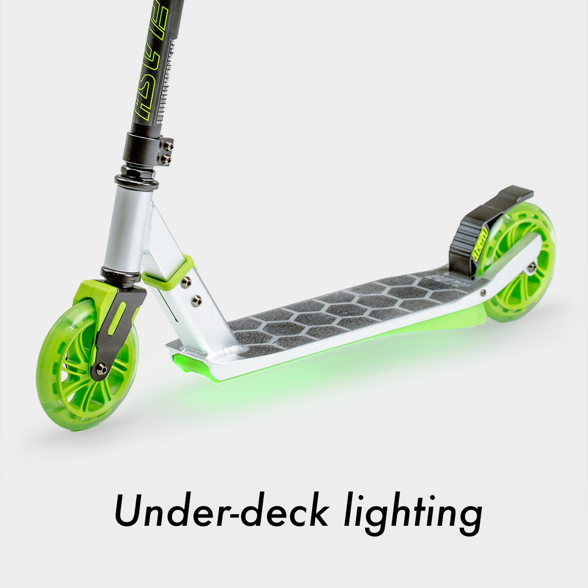 Under-deck lighting (batteries included)
