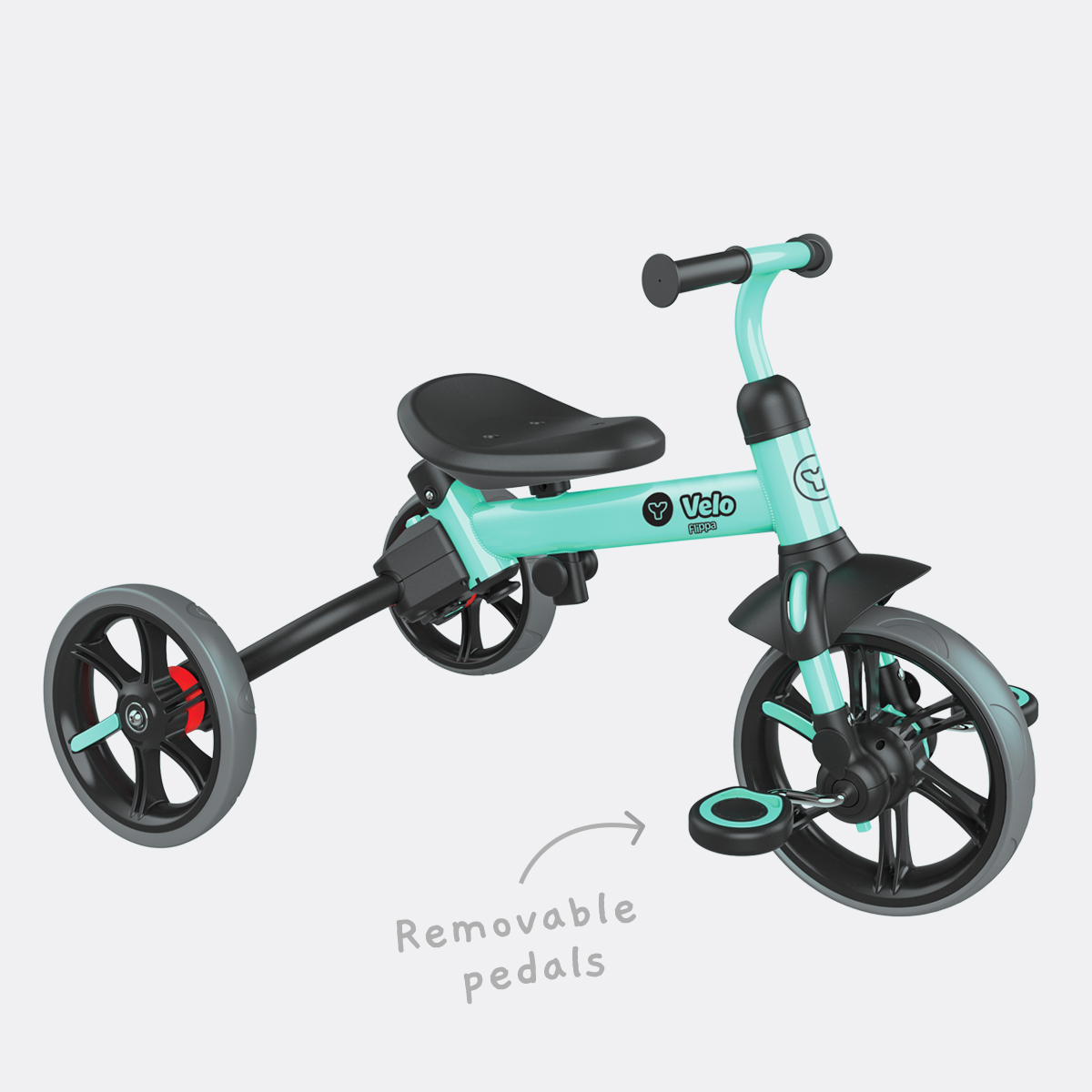 Removeable pedals