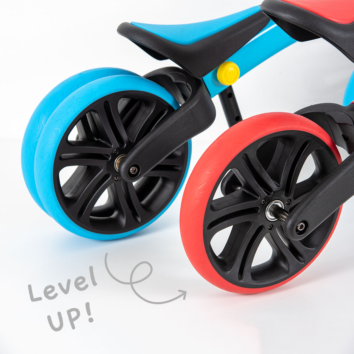 2 stages balance bike