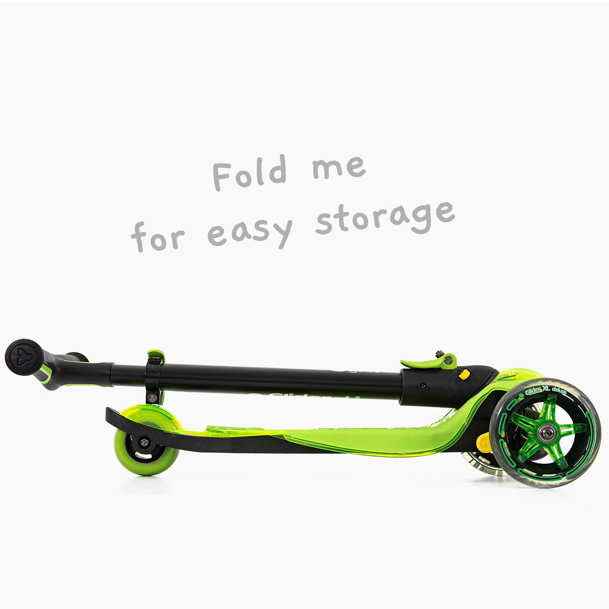 Folding for easy storage