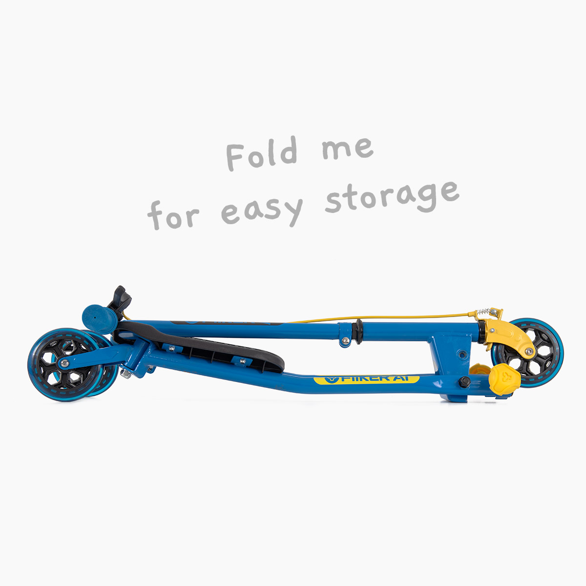 Folding system for storage